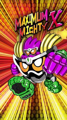 Maximum Mighty X Gashat Art by VexylGraphics on DeviantArt Kamen Rider Ex Aid, Kamen Rider Series, Mighty Action X, Manga Artist, Cute Japanese, Hero Arts, Anime Shows, Iphone Wallpaper, Chibi