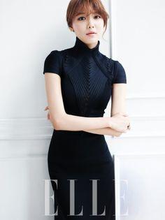 Sooyoung SNSD ★ Girl Generation - Elle Korea, September 2013