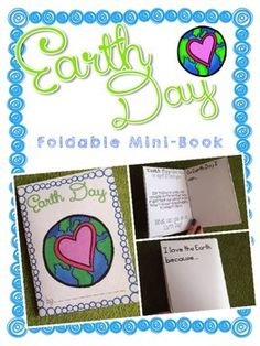 This cute and NO PREP freebie is a great way to have student practice their speech and language skills as they learn and discuss Earth Day. Have students fold the mini-book and finish the statements.  They can write or draw their information.  This mini-book can be printed in the color or you can change your settings to print in gray-scale to save some ink.
