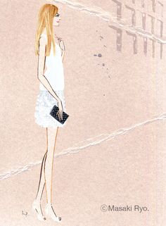 Ralph Lauren 2014 | Illustration by Masaki Ryo