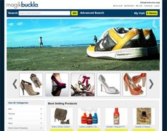 Magik Buckla is a Magento theme specifically built for stores that are selling shoes, sandals, footwear or any shoe related accessories and products online. You can download and get the Magento theme up and ready on your site very quickly.