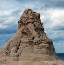Figuras de arena....