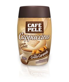 Café Pelé lança edição especial Cappuccino sabor Creme Caramelo
