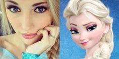 Vemale.com - Wanita ini mirip banget dengan Elsa 'Frozen'. Uniknya, di dunia nyata ini dia bernama Anna. Anna Faith.�