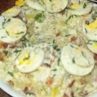Ensalada de papa(potato salad) yumyum I love this so much!