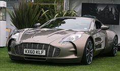 Aston Martin One-77, 750 horsepower....I would have to live in this car even if I could buy one....