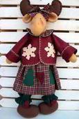 Christmas Moose, Christmas 2016, Handmade Christmas, Christmas Decorations, Christmas Ornaments, Holiday Decor, Moose Animal, Moose Crafts, Halloween Cakes