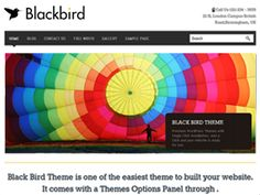 Blackbird is a Uniquely Designed, Professional, Responsive and beautiful Theme with Easy Customization Options built by InkThemes.com. The Customization Options includes using your own Logos, Analytics and your own Custom Feature Texts that can be tweaked easily using Theme Options Panel. BlackBird Theme comes with a Single Click Intall feature, Just press activate button and your website will get ready with all the dummy content. Just set the content from the Themes Options Panel and you…