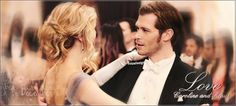 Klaus and Caroline - The Vampire Diaries by MISA0710.deviantart.com