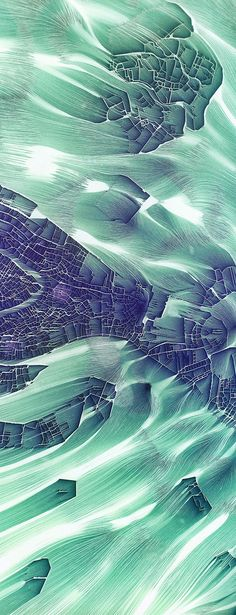 'Flowing City Map' is the latest project by Chaotic Atmosphere, a.k.a. Istvan, a Swiss illustrator. The series was created for a Venice-based exhibition on the theme of the identity of cities and their dwellers. City maps were put through the program World Machine to achieve a unique erosion flow effect. The results look like they're aerial views of a post-apocalyptic world being washed away. Among the cities featured are Tokyo, Rio de Janeiro, New York, Paris, Cairo, Beijing, and Venice…