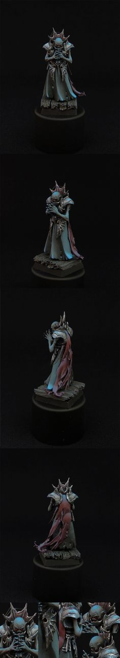 Necromancien - Just the picture, but it is one of the scariest necromancer minis I have ever seen.