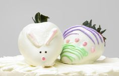 Easter Chocolate Dipped Strawberries by Tasteful Cakes in Corona, CA