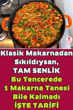 Pasta Recipies, Noodle Recipes, Turkish Recipes, Ethnic Recipes, Turkish Kitchen, Tasty, Yummy Food, Pasta Noodles, Bbq