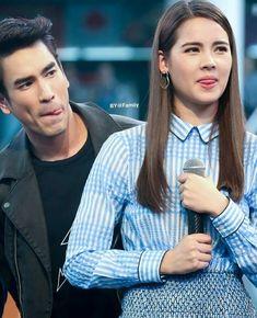 😛Barry 😛Yaya Thai Princess, Thai Drama, Sweet Couple, Traditional Dresses, My Idol, Thailand, Handsome, Cosplay, Actresses
