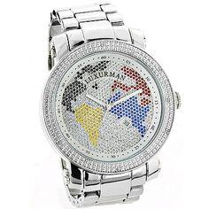 Luxurman Diamond Watches....