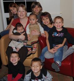 I am with all of my grandkids... as of a few yeas ago. We have more now!