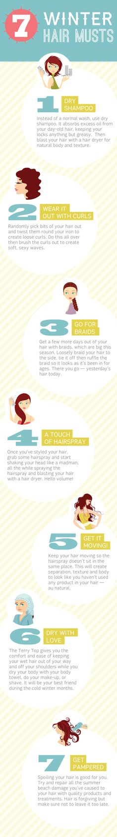 7 Winter Hair Musts
