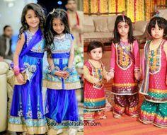kids wedding fashion 600x486 Golden Lehnga, Wedding With Kids, Western Dresses, Half Saree, Wedding Styles, Kids Fashion, Sarees, Cute, Baby