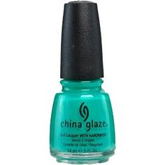 China Glaze Nail Laquer with Hardeners Turned Up Turquoise (Neon) Ulta.com - Cosmetics, Fragrance, Salon and Beauty Gifts