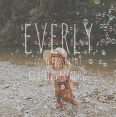 Everlee or Everleigh