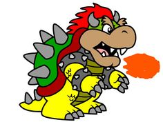 Bowser. Mario Brothers. http://www.coloringpages4u.com