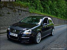 Black Mk5 VW Golf R32