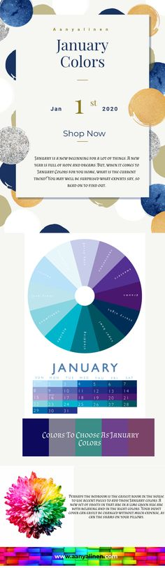 January is a new beginning for a lot of things. A new year is full of hope and dreams. But, when it comes to January Colors for you home, what is the current trend? You may well be surprised what experts say, so read on to find out. How To Make Light, How To Find Out, January Colors, Hopes And Dreams, New Beginnings, Infographics, Color Pop, Bedding, Things To Come