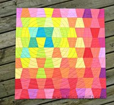 grumpystitches: Burst of Colour by felicity.quilts on Flickr.