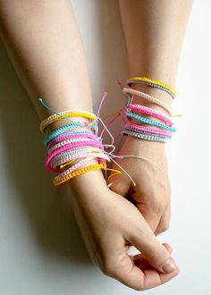 Breezy Friendship Bracelets | Purl Soho - Create