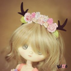 Little deer headband for Jerry Berry and Dal by kuloft on Etsy, $15.00
