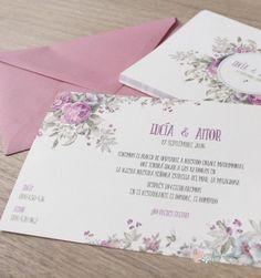 """Invitación """"Jardín de Rosas"""""""