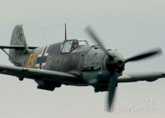 Messerschmitt Bf-109E-3 Emil from the Flying Heritage Collection in Everett…