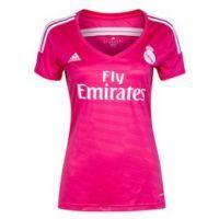 Ya puedes Comprar la Camiseta del Real Madrid Rosa 2014-2015 para mujer. Segunda equipación del Real Madrid para la nueva temporada,  hazte con la tuya aqui: http://www.deportesmena.es/79-tienda-real-madrid#.U49bbvl_sXY