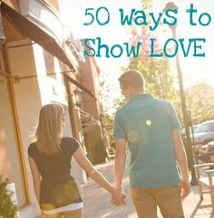 BusyBliss: 50 WAYS to Show Your Husband You LOVE HIM