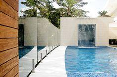 cascata piscina - casa riviera
