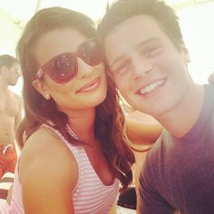 So excited for this #Coachella weekend with my bff JGroff! Having blast at @Lacoste pool party now! #LiveBeautifully  GROFFCHELE FTW