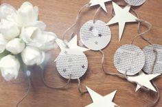 Girland med månar och stjärnor av Lovilett Crochet Earrings