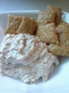 Savory Wild Salmon Dip: This dip is a great way to incorporate an inexpensive type of seafood into your diet, and tastes especially good on sourdough crackers or celery.