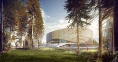 Copenhagen Arena Proposal / 3XN Architects