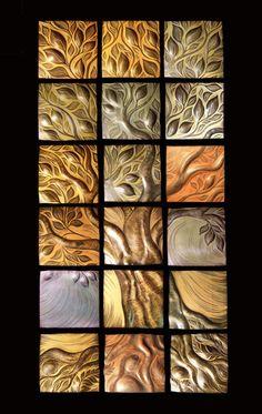 Tree of Life, handmade ceramic wall art by Natalie Blake Studios