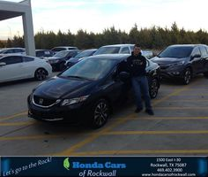 https://flic.kr/p/MA21WM | #HappyBirthday to Chad from Jim Bywater at Honda Cars of Rockwall! | deliverymaxx.com/DealerReviews.aspx?DealerCode=VSDF
