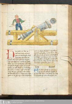Rüst- und Feuerwerksbuch. Rhein-Main-Gebiet, um 1500. Universitätsbibliothek Frankfurt Ms. germ. qu. 14 fol. 44r