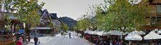 Rua Djalma Forjaz onde está o Aspen Mall, a Cervejaria Baden Baden, Campos do Jordão.