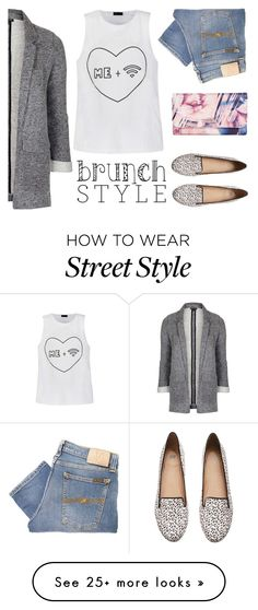 """""""Brunch Style"""" by iviv on Polyvore featuring Nudie Jeans Co., Ally Fashion, H&M, Topshop and GUESS"""