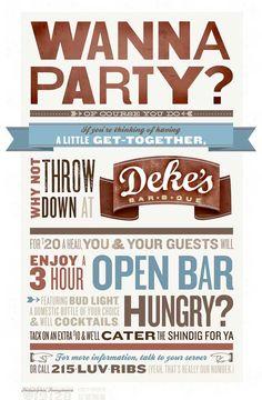 jjames party poster