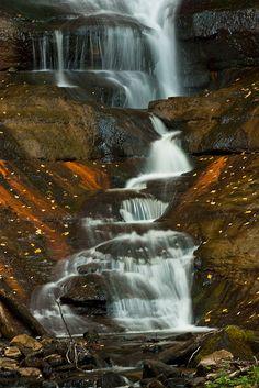 Munising Falls, Pictured Rocks National Lakeshore, Michigan; photo by Carl TerHaar