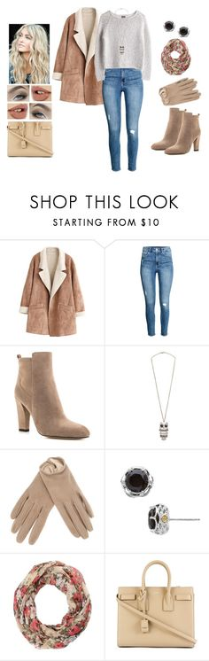 """The Girl in the Background"" by teodoramaria98 ❤ liked on Polyvore featuring MTWTFSS Weekday, Ivanka Trump, MANGO, Giorgio Armani, Tacori, Charlotte Russe, Yves Saint Laurent and Charlotte Tilbury"