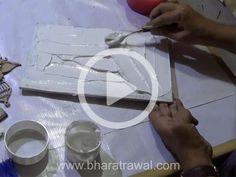 Mural Art Video Tutorials - by Muralguru Bharat Rawal Clay Wall Art, Mural Wall Art, Home Wall Art, Clay Art, Sculpture Painting, Mural Painting, Online Tutorials, Video Tutorials, Name Plates For Home