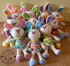 My Crochet Privacy ...: Jak szybko rozmnażają się króliczki? / How fast does bunnies reproduce?