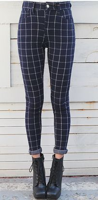 15 Shopping Sites You'll Wish You Had Known About Sooner  Style Nanda Plaid Pants: $40.51, Cutout Back Crop Top: $31.82: